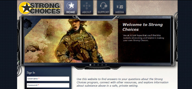 StrongChoices Website